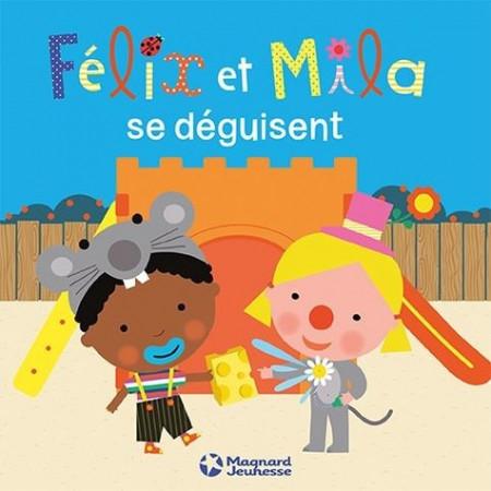 Félix et Mila se déguisent