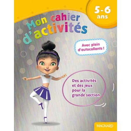 Mon cahier d'activités Danseuse - 5-6 ans