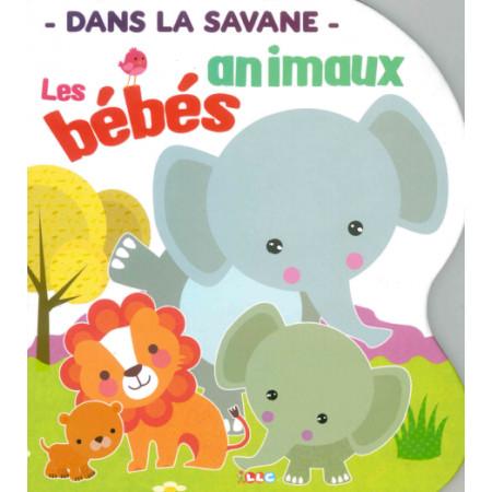 Les bébés animaux Dans la savane