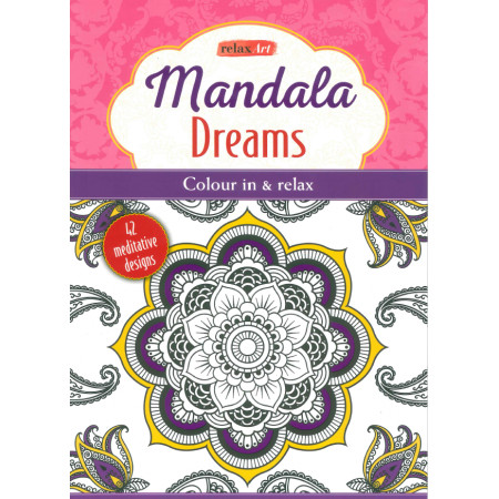 Mandalas dreams Color thérapie Ed Anglaise