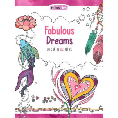 Rêves fabuleux Color thérapie Ed anglaise