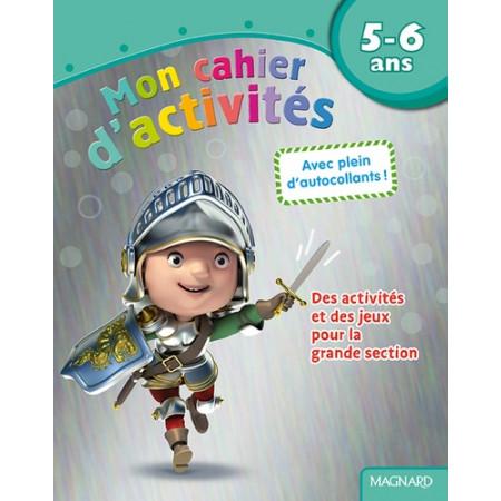 Mon cahier d'activités Chevalier - 5-6 ans