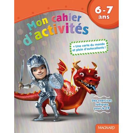 Mon cahier d'activités Dragon - 6-7 ans