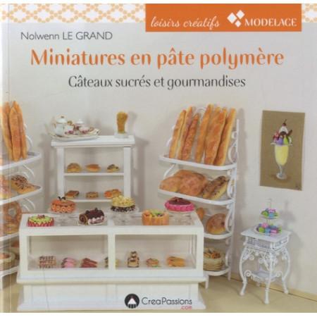 Miniatures en pâte polymère - Gâteaux sucrés et gourmandises