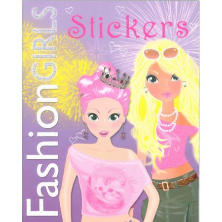 Fashion Girls Stickers (mauve)