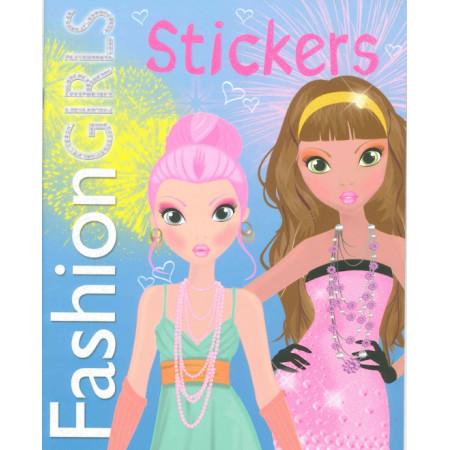 Fashion Girls Stickers (bleu)