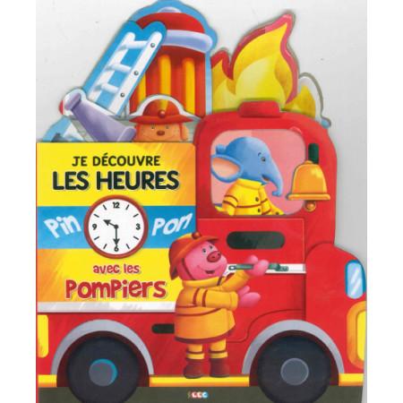 Je découvre les heures avec les pompiers