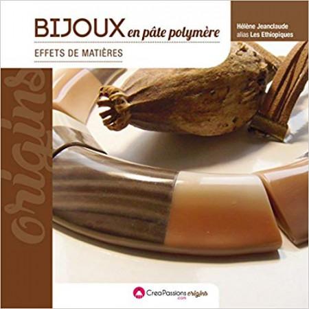 Bijoux en pâte polymère - Effets de matières -
