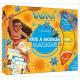VAIANA - Les Ateliers Disney - Coffret Pâte à modeler magique