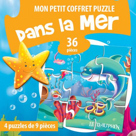Mon petit coffret puzzle Dans la mer