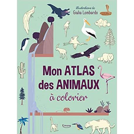 Mon atlas des animaux à colorier