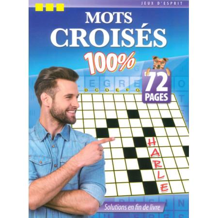 Mots croisés 100% 72 pages