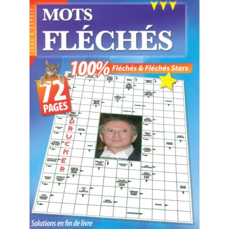 Mots fléchés 100% (stars) 72 pages