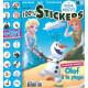100 % stickers Olaf à la plage (bleu)