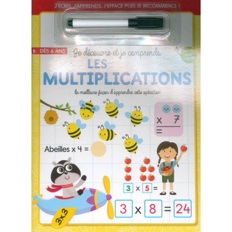 Je découvre et je comprends les multiplications