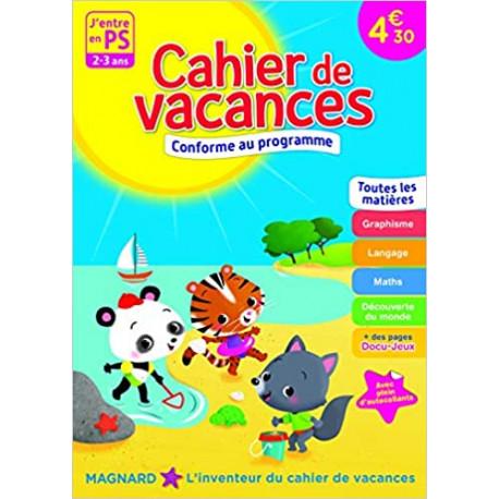 Cahier de vacances - J'entre en PS - 2-3 ans