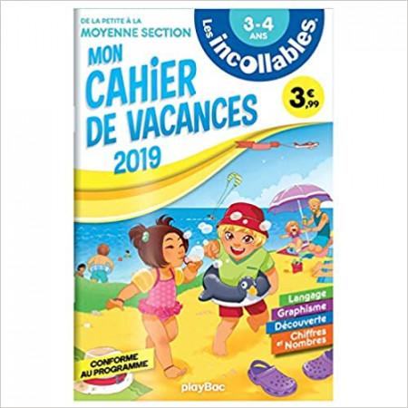 Les incollables - Cahier de vacances De la PS à la MS