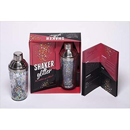 Coffret Cocktails shaker glitter