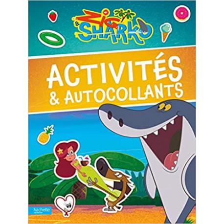 Zig & Sharko - Activités & autocollants