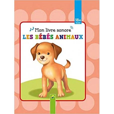 Mon livre sonore, les bébés animaux