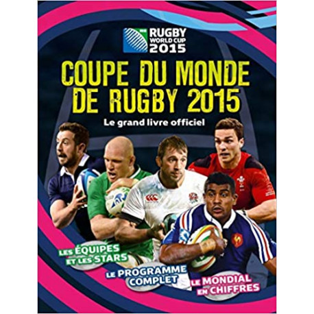 Le livre officiel de la coupe de rugby 2015