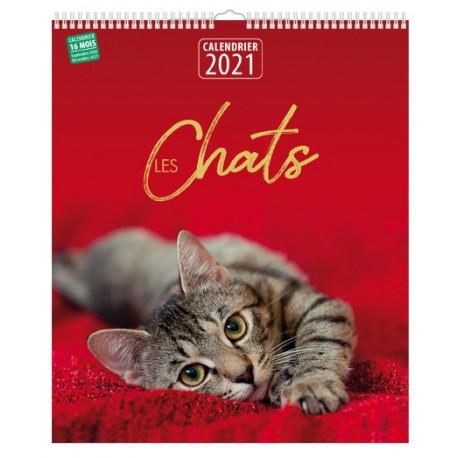 Calendrier 2021 - Les chats