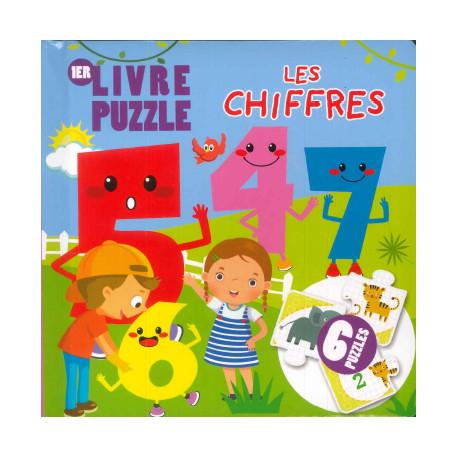 Livre Puzzle Les Chiffres