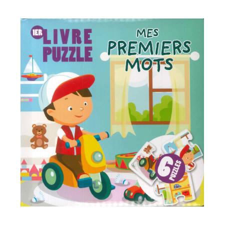 Livre Puzzle Mes premiers mots