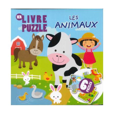 Livre Puzzle Les animaux
