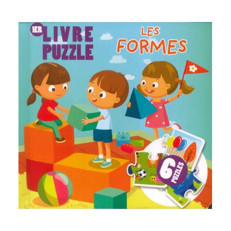 Livre Puzzle Les formes