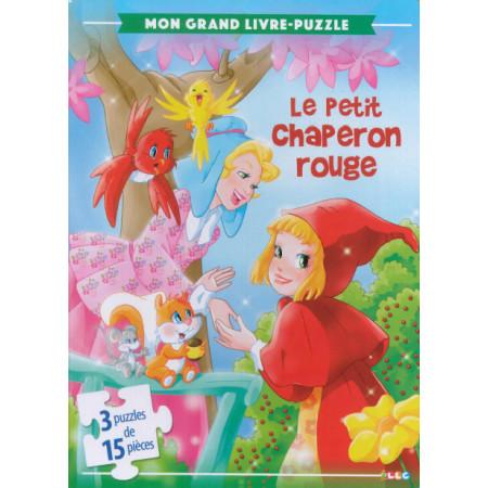 Mon grand livre-puzzle Le petit chaperon rouge