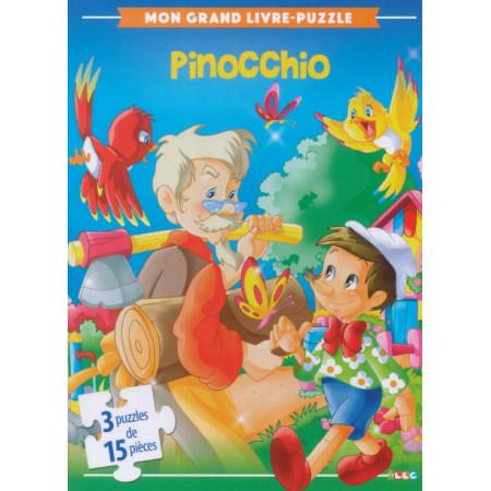 Mon grand livre-puzzle Pinocchio