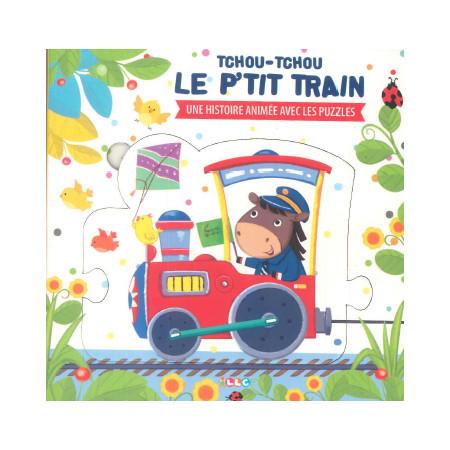 Livre-puzzle Tchou-Tchou le petit train