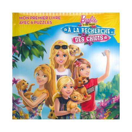 Barbie et ses soeurs A la recherche des chiots (6 puzzles)