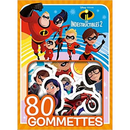 80 gommettes Les Indestructibles 2