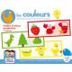 Boîte de jeux Les couleurs 7 puzzles + 3 ans