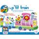 Boîte de jeux Le p'tit train 5 puzzles + 3 ans