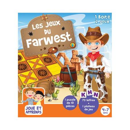 Boîte de jeux Les jeux du Farwest 4-7 ans