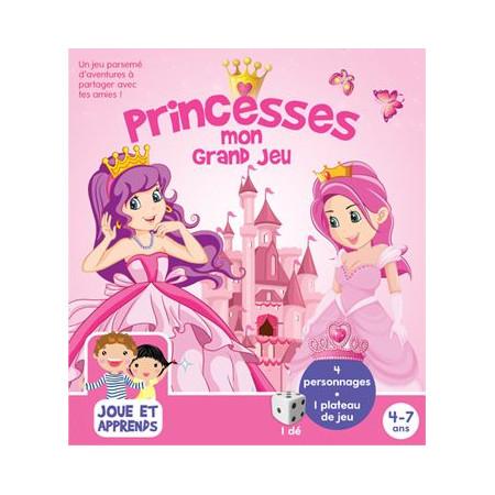 Boîte de jeux Princesses 4-7 ans