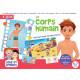 Boîte de jeux Le corps humain ( 8 jeux) 5-7 ans