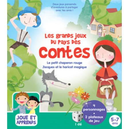Boîte de jeux Les grands jeux du pays des contes 5-7 ans