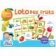 Boîte de jeux Loto des fruits 5-7 ans