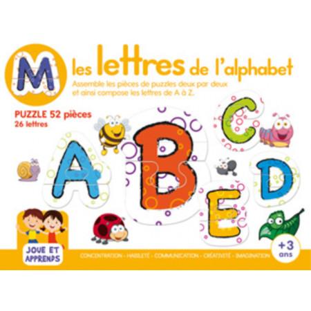 Boîte de jeux Les lettres de l'alphabet + 3 ans
