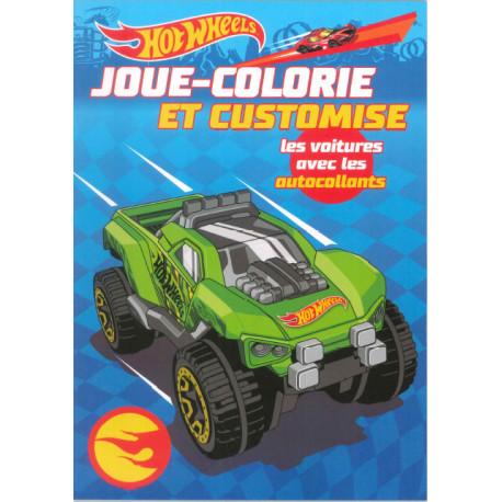 Joue Colorie Et Customise Les Voitures Avec Les Autocollants Jeunesse Activites Jeux Coloriages Maxilivres
