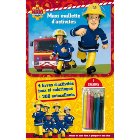 Maxi-Mallette d'activités - Sam le Pompier