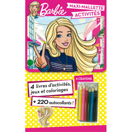Maxi-Mallette d'activités - Barbie