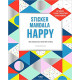 Sticker mandala happy - Mes tableaux à sticker anti-stress