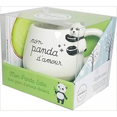 Coffret Mug Panda - Matcha latte & cie