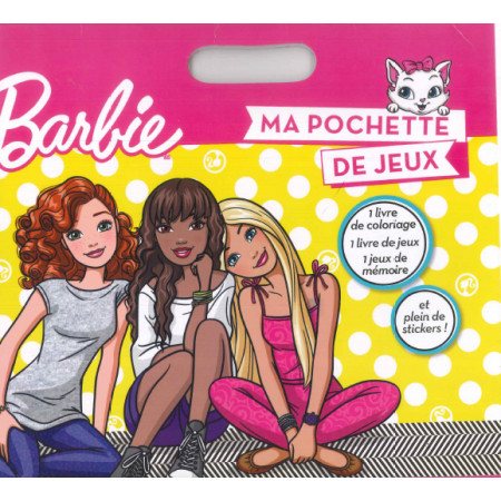 Barbie et ses amies Ma pochette de jeux