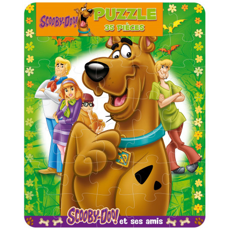 Scooby-doo ! Puzzle 35 pièces
